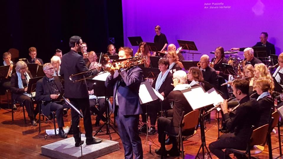 orkest met Jesse en Bram